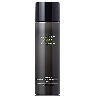 クワトロボタニコ (QUATTRO BOTANICO) [メンズ 化粧水 オールインワン] ボタニカル オイルコントロール & スキンコンディショナー/オイリー肌/スキンケア/男性/化粧品 (150ml)