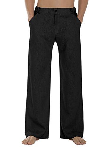 SCHAZAD Approval Leinenhose (XL, schwarz)
