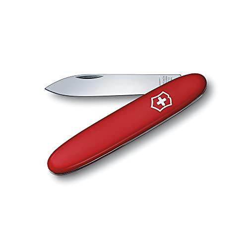 Victorinox Excelsior Solo Taschenmesser, 1 Funktion, Große Klinge, Swiss Made, rot