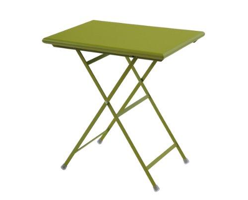 Emu 303346000N Arc En Ciel Klapptisch 334, 50 x 70 cm, pulverbeschichteter Stahl, grün