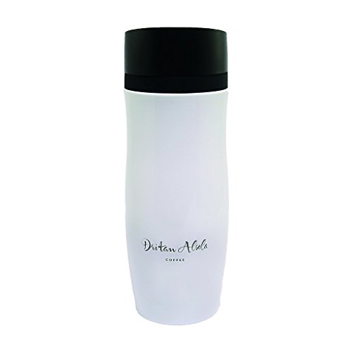Dritan Alsela Thermobecher Travel Mug Weiß