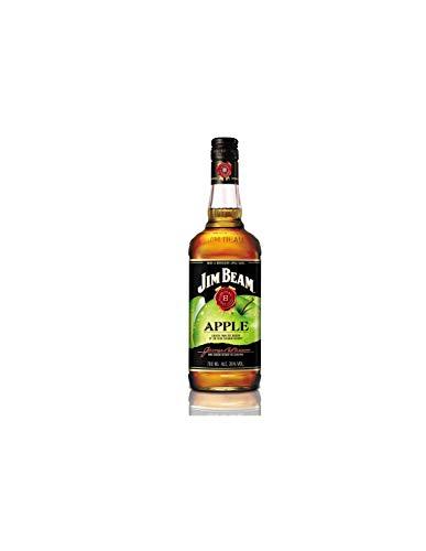 Jim Beam Apple - Bourbon Whiskey mit Apfel-Likör, erfrischender und fruchtiger Geschmack, 35% Vol, 1 x 0,7l