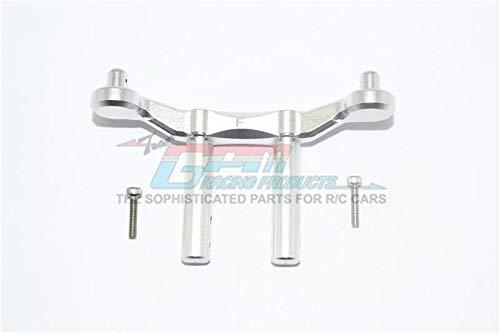 GPM Arrma Granite 4x4 / Big Rock Crew Cab 4x4 Upgrade Parts Aluminum Front Body Mount & Post - 1Pc Set Silver