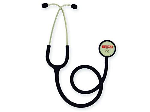 GIMA 32534 Stesoscopio Duofono Classic, Adulti, Nero