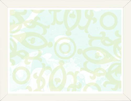 Homedecoration Bilderrahmen Colonia 30 x 34 cm mit leicht abgerundetem Profil in Cream Vanille mit Acrylglas klar 1mm für Bilder Fotos Kunstdrucke Poster Puzzle
