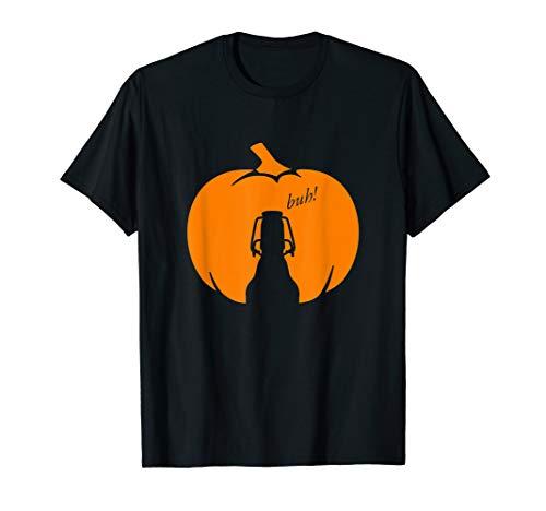 FLENSBURGER Bier Halloween Kürbis T-Shirt
