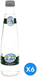 Al Ain Glass Bottle Sparkling, 750 ml - Pack of 6