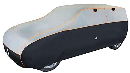 Walser Auto Hagelschutzplane Perma Protect SUV wasserdichte atmungsaktive Hagelschutzgarage für optimalen Hagelschutz, Größe: L 30985