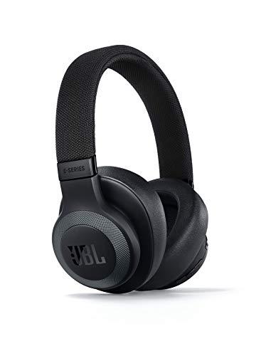 JBL E65BTNC Over Ear Bluetooth Kopfhörer in Schwarz matt – Active Noise Cancelling Headphones mit JBL Signature Sound – Musikgenuss für bis zu 24 Stunden