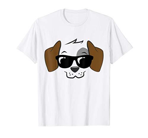 Disfraz de perro de Halloween Funny Lazy Camiseta