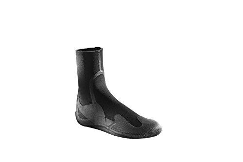 XCEL Xplorer Juventud 5mm Round Toe Boot, Unisex, Negro