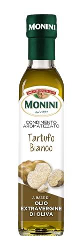 Monini Condimento a Base di Olio Extra Vergine Aromatizzato Tartufo Bianco, 250ml