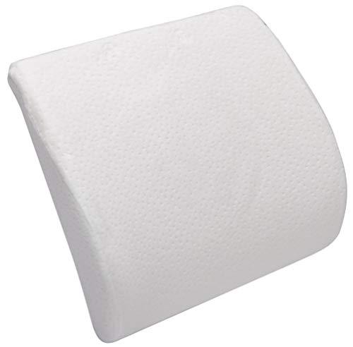 Pikolin Home - Viskoelastisches Lendenstützkissen, waschbarer Bezug, Festigkeit: fest , 34 x 39 cm, Höhe 10 cm