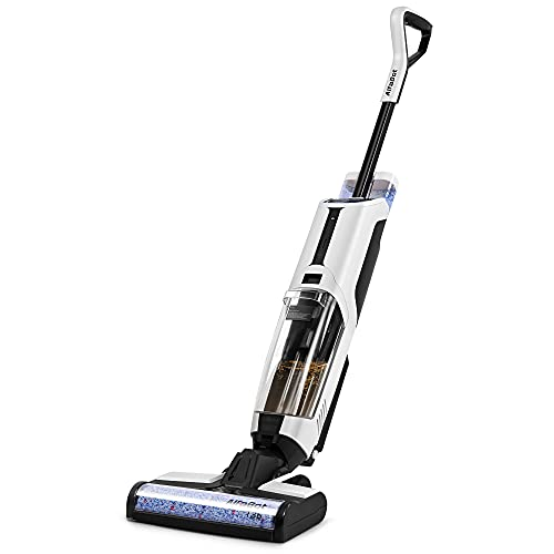 Wet Dry Vacuum, AlfaBot T36 Cordless Floor Vacuum Cleaner and Mop for...