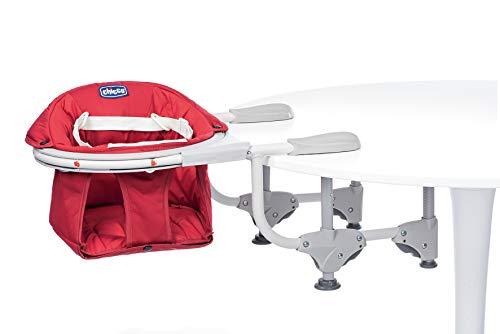 Chicco Asiento de mesa 360°, color rojo
