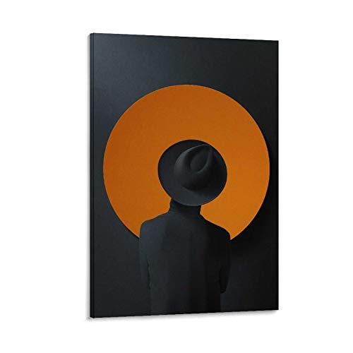 NCJK Diego De Silva I Valori Che Contano - Stampa artistica su tela e stampa artistica da parete moderna per camera da letto, 60 x 90 cm