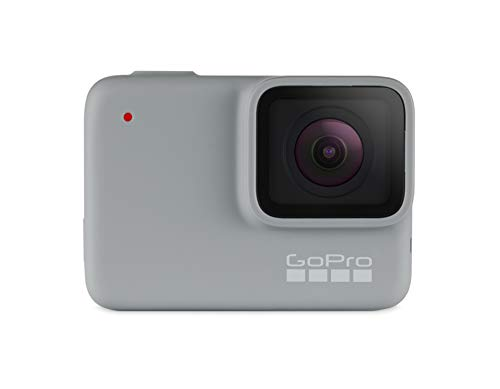 GoPro HERO7 White - Cámara de acción digital sumergible con pantalla táctil, vídeo HD 1440p y...
