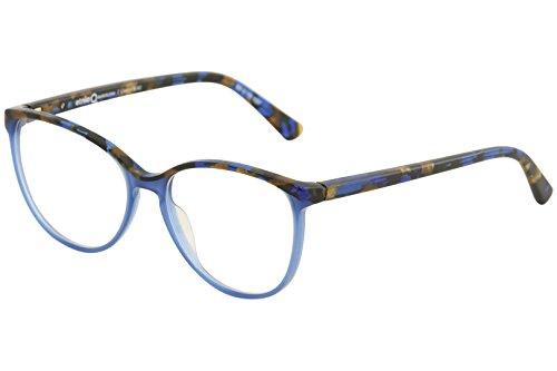 Etnia Barcelona Women's Eyeglasses Lima BLBZ Blue/Bronze Optical Frame 53mm