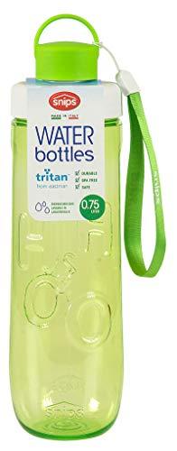 Snips Water to go fles, groen, 7,5 x 7,5 x 26,5 cm