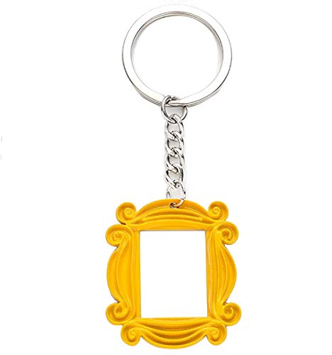 TV Show Friends Keychain - Yellow Picture...