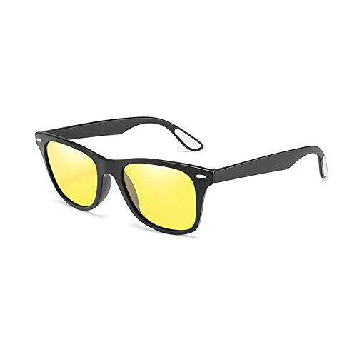 Gafas De Sol Hombre Mujeres Ciclismo Gafas De Sol Polarizadas Clásicas Hombres Mujeres Gafas De Sol con Montura Cuadrada Hombres Hombre-1-Kp1052-C12