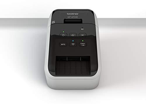 Brother QL-810W Térmica Directa Color 300 x 600DPI - Impresora de Etiquetas (Térmica Directa, 300 x 600 dpi, 176 mm/s, 6,1 cm, 110 Ipm, Centro, Izquierda)
