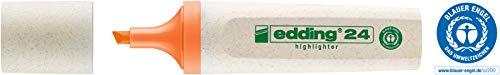 edding Textmarker Highlighter 24 EcoLine, nachfüllbar, orange