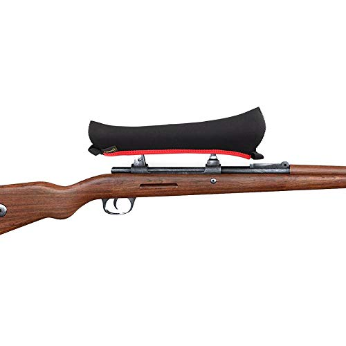 1PCS Rifle Hunting Scope Cover Black Color Neoprene Rifle scoped Size Large