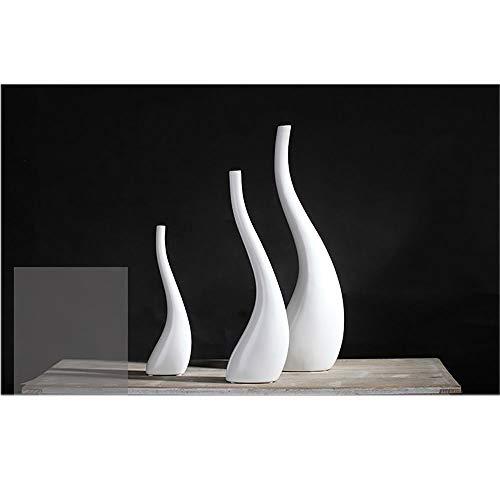 gengyouyuan Keramische ornamenten moderne minimalistische Scandinavische witte tv-kast decoratie woondecoraties