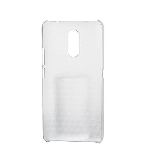 Tasche für Ulefone Gemini Hülle, Ycloud Handy Backcover Kunststoff-Hard Shell Hülle Handyhülle mit stoßfeste Schutzhülle Smartphone Weiß Transparent