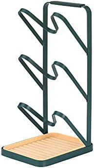 FASHAJI Pot Lid Organizer Holder Rack C Store for NEW before selling Cabinet Door Kitchen