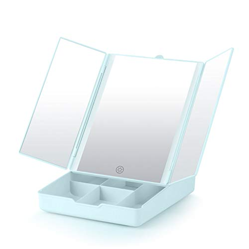 Miroir Lumineux Dressing Miroir de Maquillage pour projecteur à Maquillage Lumineux avec Miroir de Maquillage