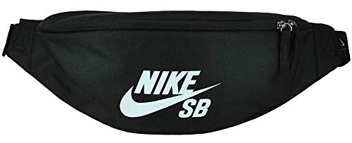 Nike SB Heritage Hip Pack BA6077-010; Unisex Sachet; BA6077-010; Black; One Size EU ( UK)