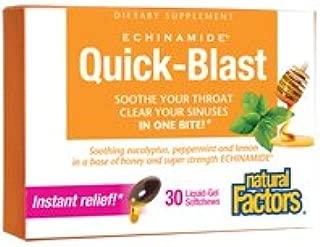 Natural Factors - Echinamide Quick-Blast Liquid-Gel Softchews - 30SG