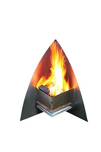 "Thorwa® Design Edelstahl Feuerstelle Feuerkorb Terrassenofen Feuerschale ""FireSpace"