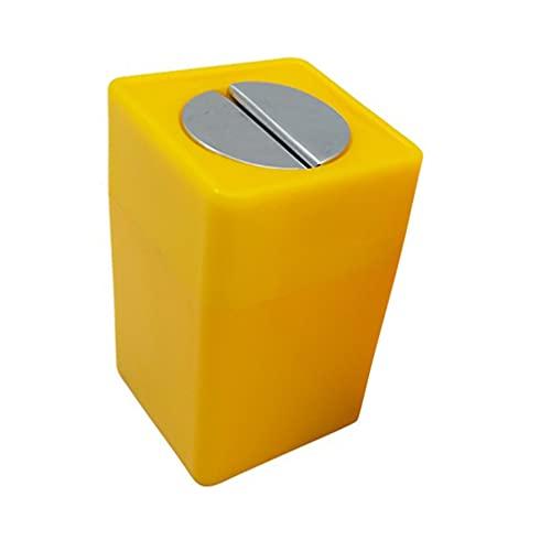 HEALLILY Caja Dispensadora de Cuchillas Desechables Caja de Eliminación de Cuchillas de Afeitar Tienda de Barbería Contenedor de Almacenamiento para Cuchillas de Afeitar Usadas Cuchillas