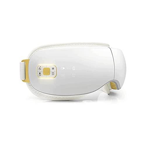 KSDCDF Eye Massager with Heat Air Pressure, Electric Shiatsu Massager for Dry Eye, Eye Strain, Eye Fatigue Relief & Better Sleep