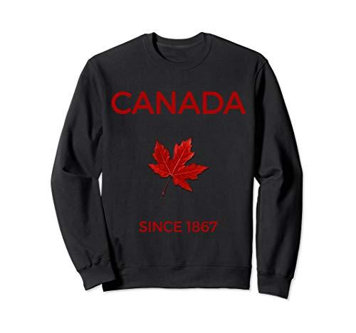 Canadian Maple Leaf And Canada Gift & Souvenir Sweatshirt