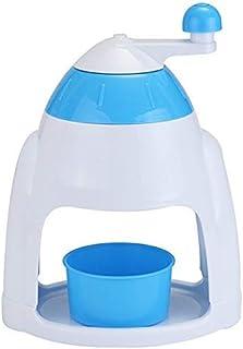 Manual Household Ice Machine Snow Flake Smoothie Machine Hand Ice Cutter Ice Grinder