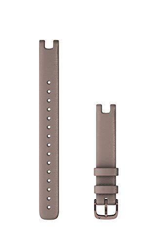 ガーミン Accessory バンド 14mm Paloma Italian Leather / Dark Bronze Long 小