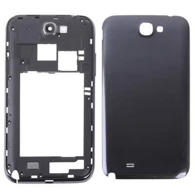 PANGTOU Reparación y repuestos Chasis de Carcasa Completa para Galaxy Note II / N7100