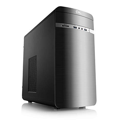 CSL Aufrüst-PC 928 - AMD Ryzen 3 PRO 4350G 4X 3800 MHz, 16GB DDR4-RAM, ASUS Mainboard, AMD Radeon Grafik, GigLAN, USB 3.1, HD Audio, ohne Betriebssystem