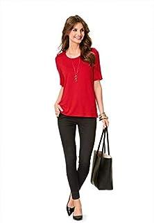 Burda Ladies Easy Sewing Pattern 6611 T Shirts & Long Sleeve Tops