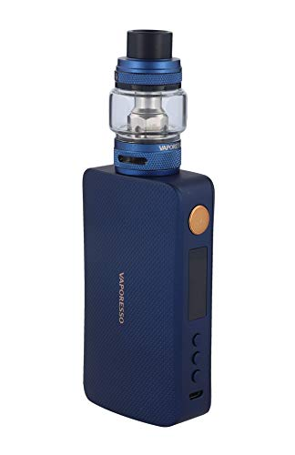 Vaporesso GEN S E Zigarette 220 Watt Gen S Box Mod + NRGS 8ml Verdampfer im Set Farbe, Blau, 1 stück