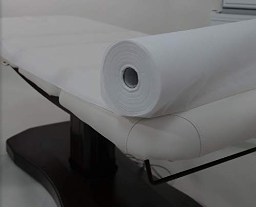 White Disposable Non-Woven Bed Cover ROLL Perforated Massage Table Sheets Wax Facial Chair