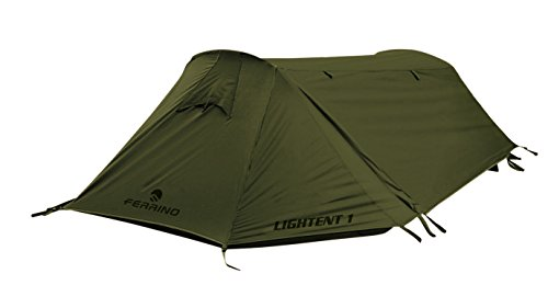 Ferrino Lightent FR, Tenda a Tunnel Verde, 1 Persona