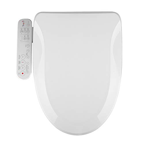 Korea-Made Trevi Bidet Toilet Seat Elongated Seat Sleek Design, Natural Air Bubble Wash Rear Wash Front Wash, Powerful Nozzle Self-Cleaning, Nozzle Oscillation and Pulse [3500]