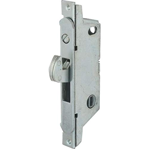 1 Pc, Adams Rite Sliding Glass Door Latch, Mortise Installation, Round End Face Plate, Adjustable Hood Projection