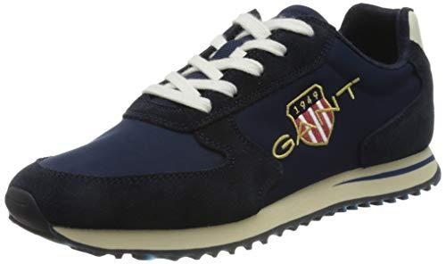 GANT Beja Sneaker, Zapatillas Mujer, Marine, 36 EU