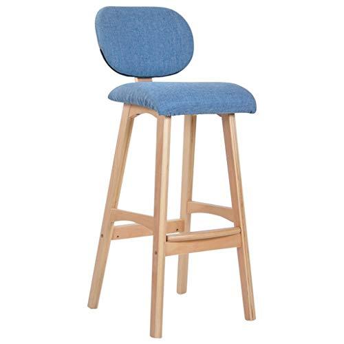 Tellgoy-Chair Bar Counter Essstühle abnehmbare Bar Höhe Hocker Industrial Bar Chairs hochwertige Bentwood Baumwolltuch Kissen Stühle Hocker für Bar Counter Speiseküche,A,X1